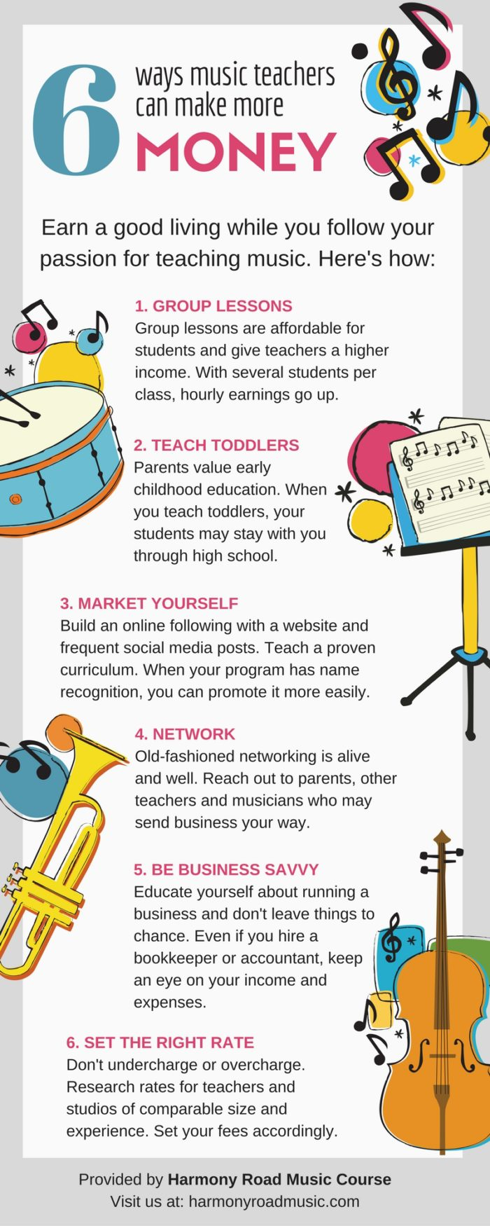 how to market your music studio 6 ways music teachers can make more money