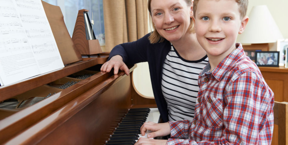 piano lessons with your child